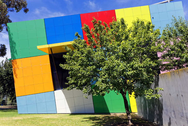 Sunken Cube  Childrens Museum
