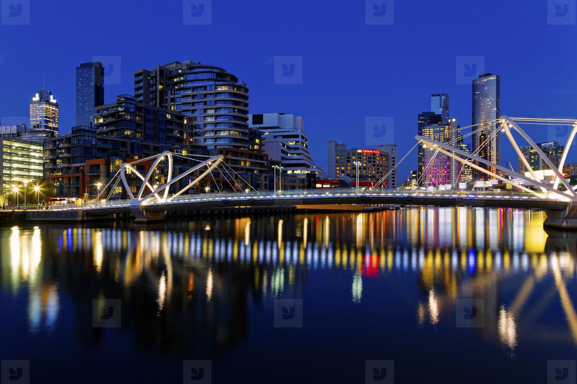 Seafarers Bridge Reflections