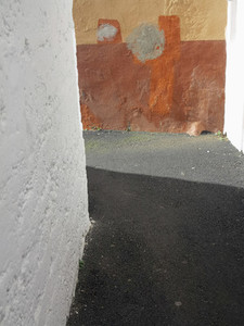 Angular painted walls Santa Cruz de La Palma Spain