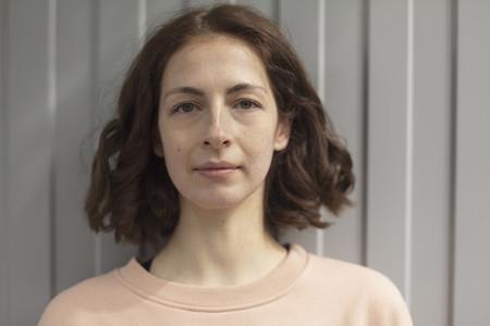 Portrait confident  beautiful woman 01