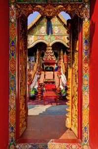 Red Temple Entrance