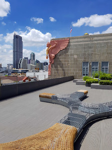 Grand Postal Building rooftop