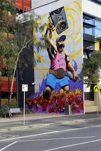 Street Art  Graffiti in Melbourn