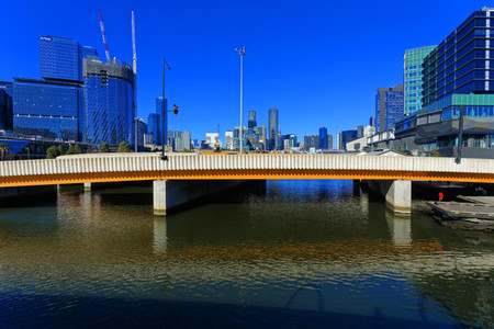 Wurundjeri Way Bridge