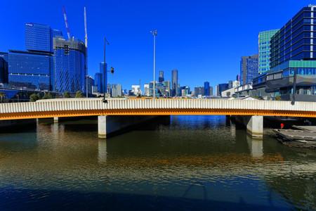 Wurundjeri Way Bridge