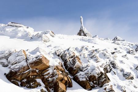 Sanctuary of Virgen de las nieves in Sierra Nevada