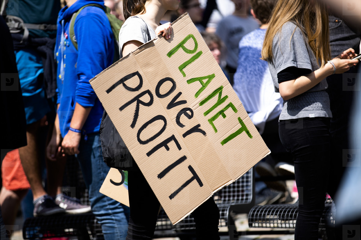 Fridays for future   global climate strike on the European elect