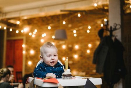 First birthday of a little boy
