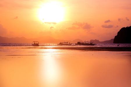 Romantic sunset  Phillippines