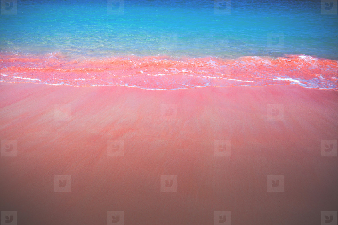 Pink Beaches of Indonesia