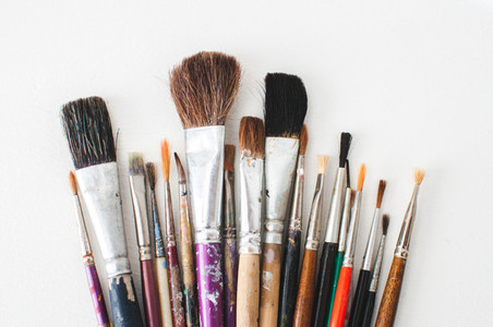 Old Paintbrush Collection