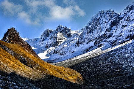 Sonamarg Glacier Kashmir India