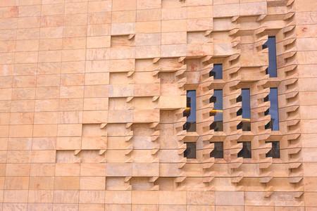 Exterior detail  wall bricks
