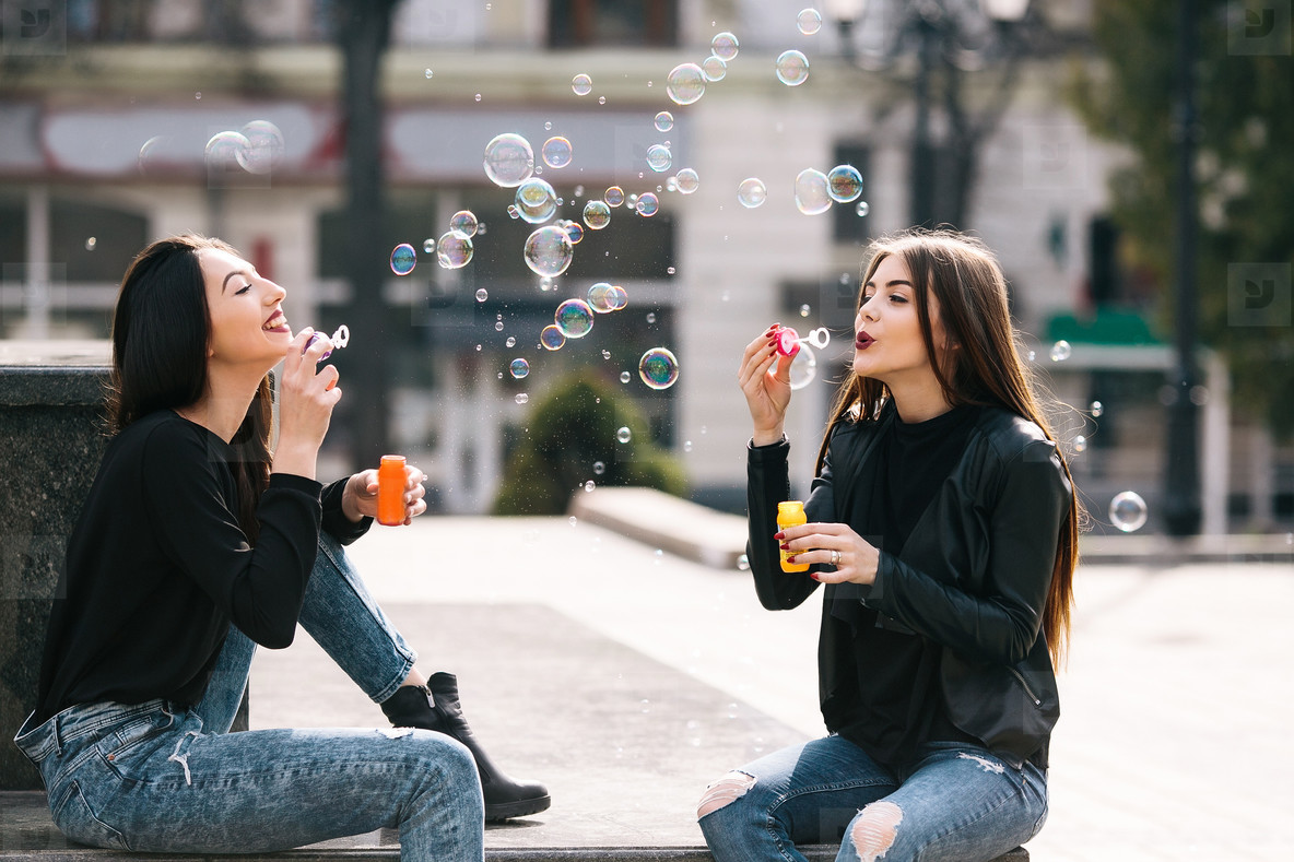Two young adult girls