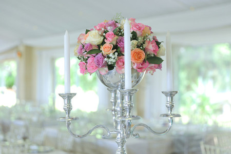 Event centrepiece and table 21