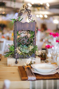 Event centrepiece and table 23