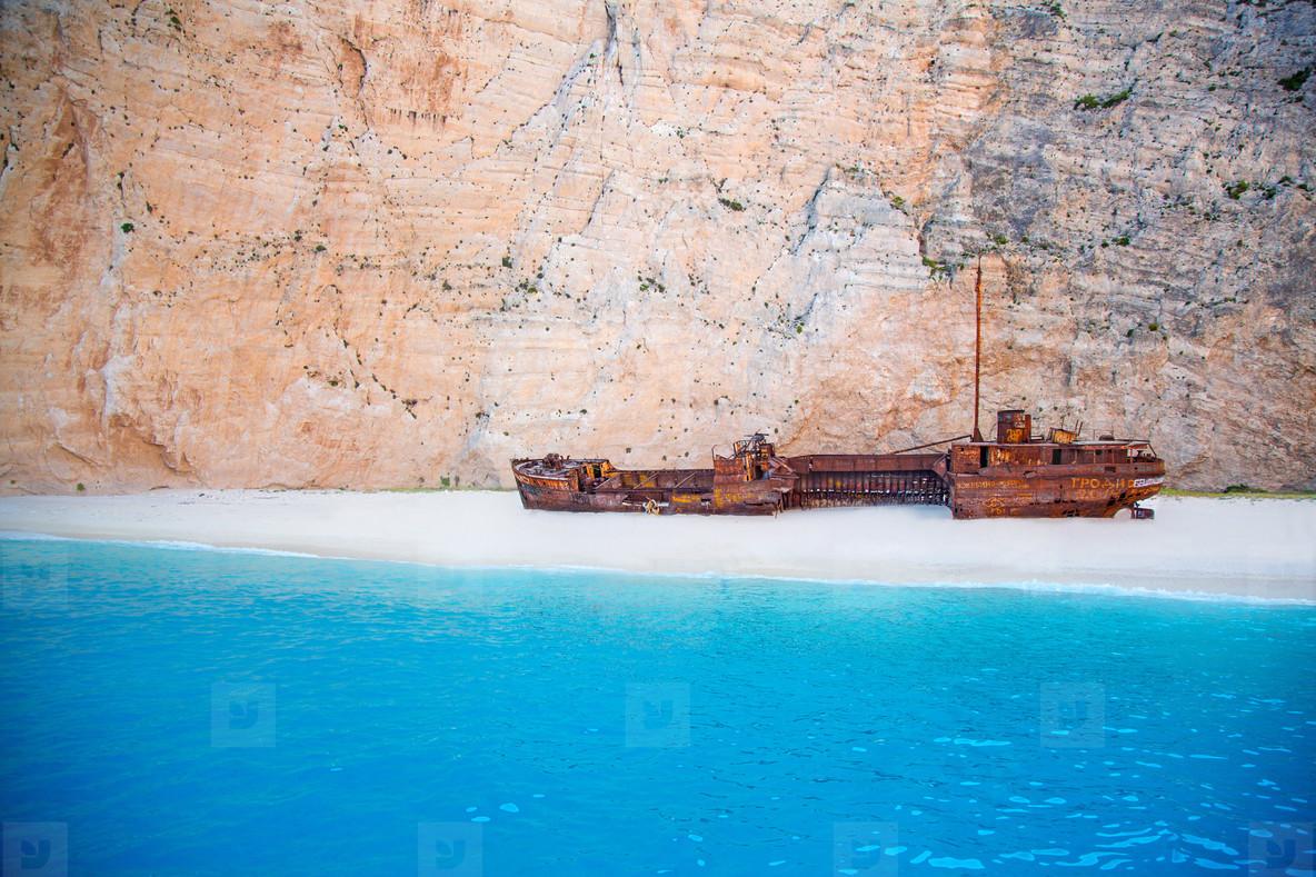 Shipwreck Beach  Greece