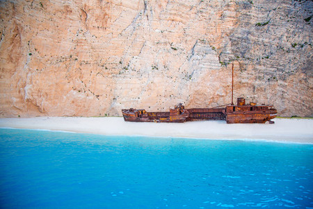 Shipwreck Beach  Greece