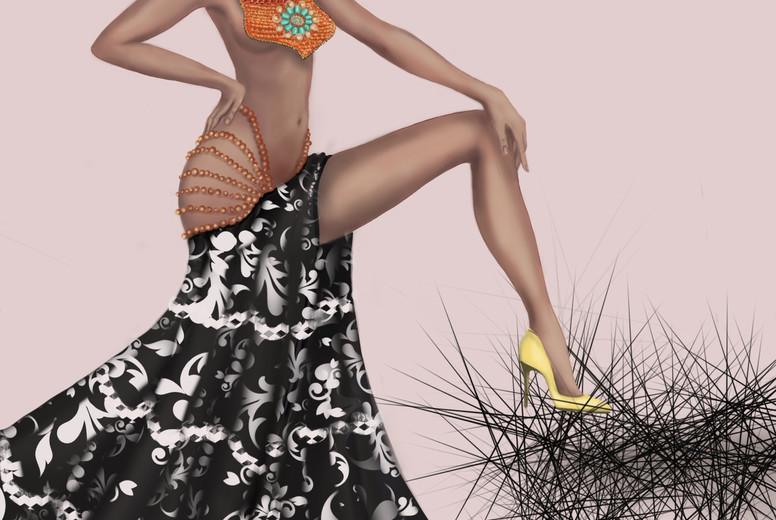 Fashion Girl Illustration 06