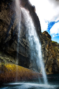 Waterfalls of the Flores Island