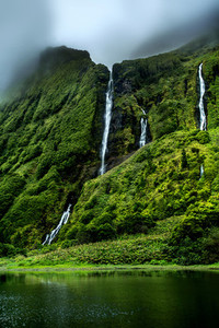 Waterfalls of Flores Island
