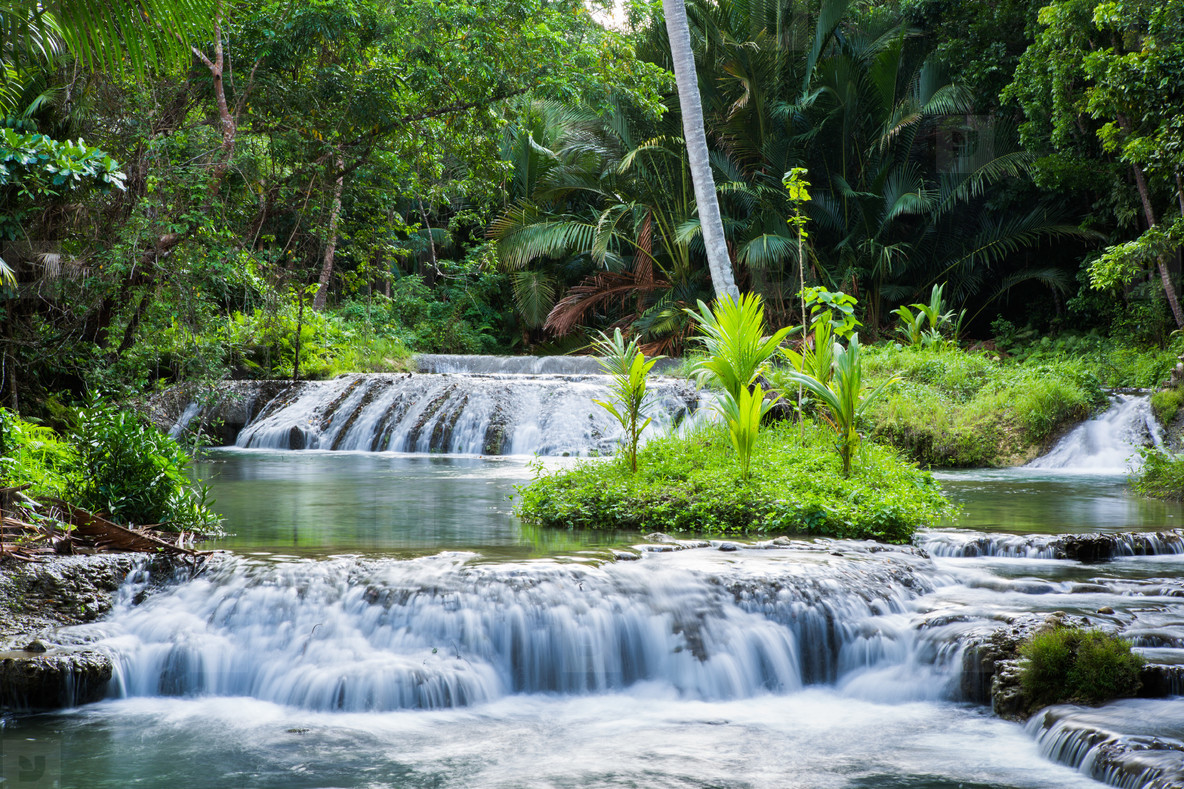 Cambugahay Falls  Phillippines