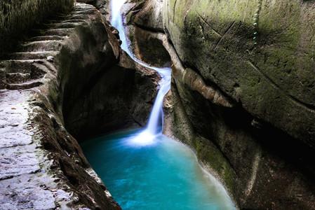 Lugnason Falls  Philippines