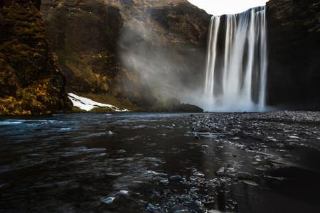 Seljalandsfoss Falls  Iceland