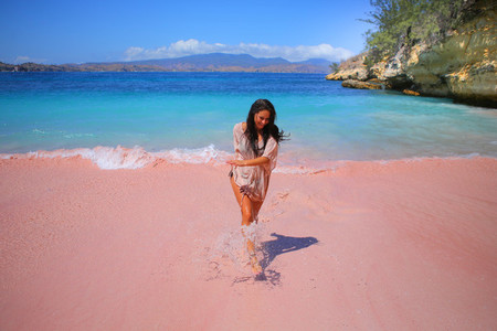 Pink Beaches of Indonesia 1
