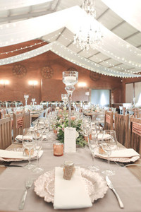 Event centrepiece and table 6