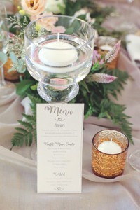Event centrepiece and table 3