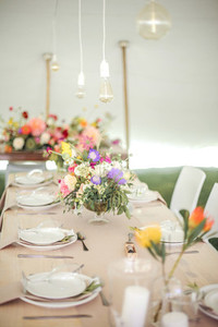 Event centrepiece and table 2