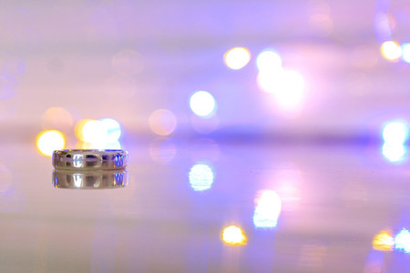 Wedding Ring bokeh