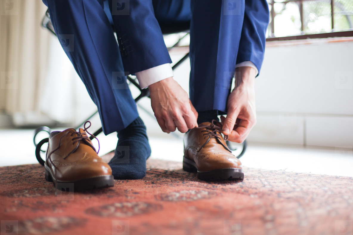 Groom on his Wedding Day 23