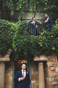 Groom on his Wedding Day 10