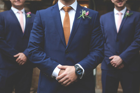 Groom on his Wedding Day 6
