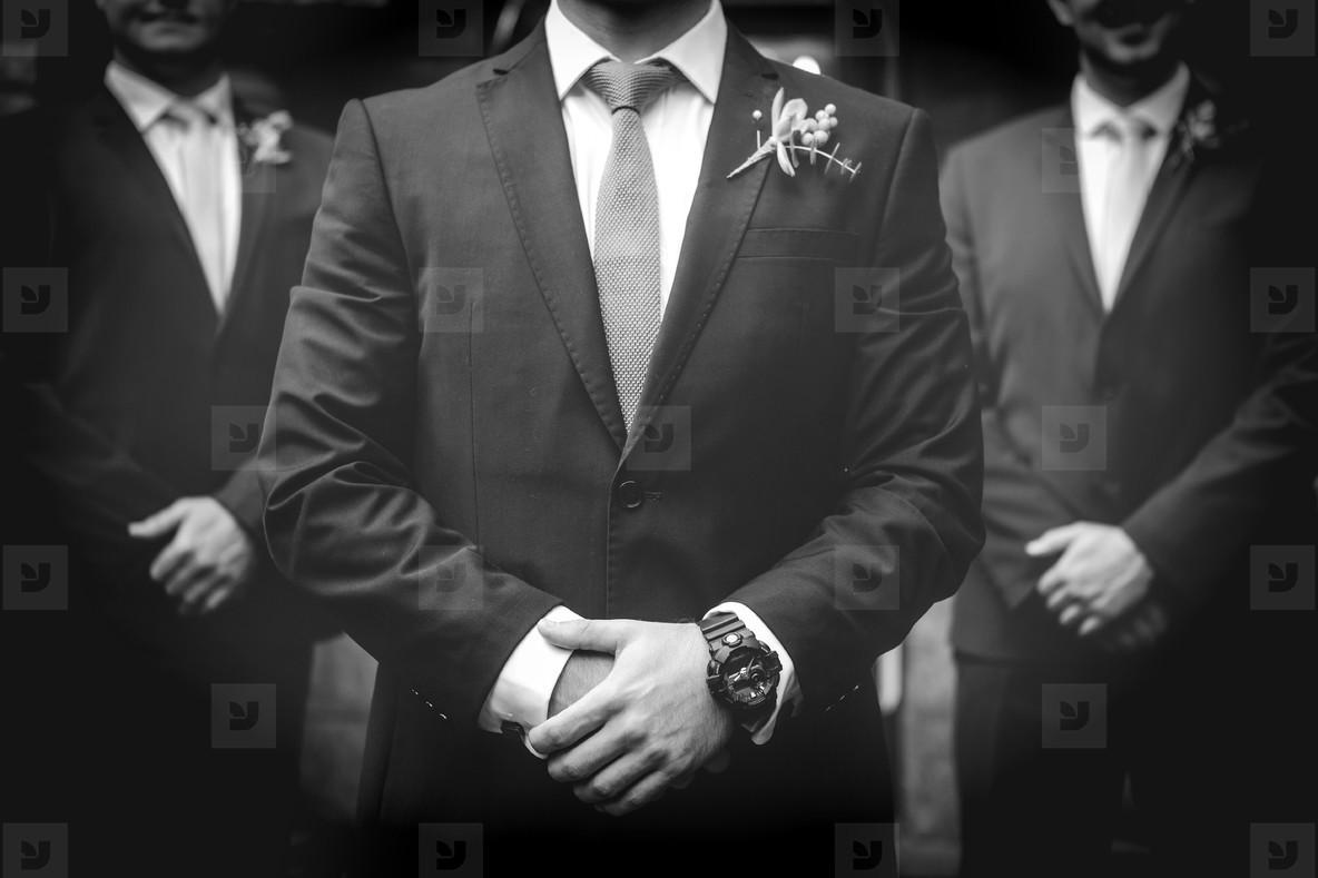 Groom on his Wedding Day 4
