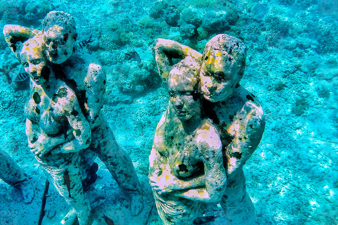 Underwater Museum Gili Islands