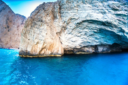 Blue Caves Zante Greece