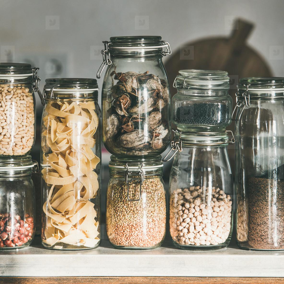Grains  cereals  nuts  dry fruit  flour  pasta kinds  square crop