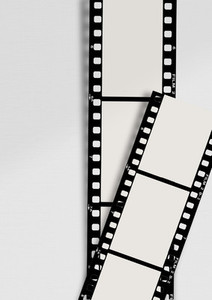 Film Frame Wall Mockup