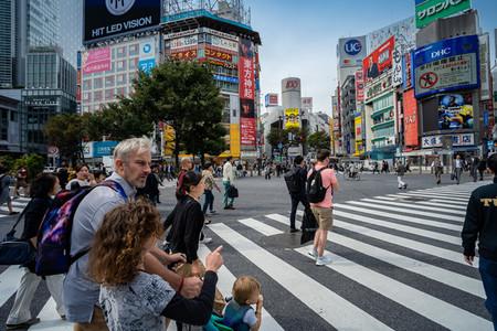 SHIBUYA  TOKYO  JAPAN   OCTOBER 16  2018 Shibuya Crossing  One