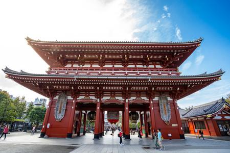 TOKYO  JAPAN   October 17  2018 Sensoji temple in Tokyo or Asak