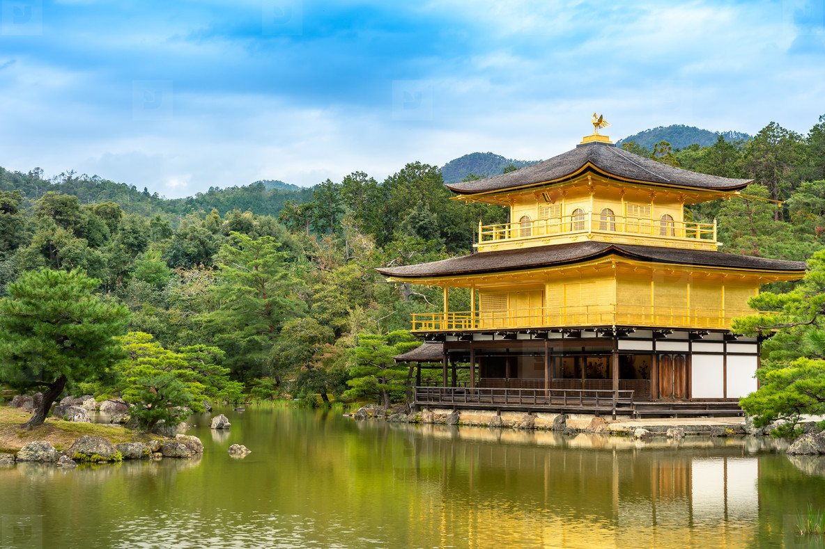 KYOTO JAPAN   OCTOBER 13  2018 Kingaguji Temple  Golden Temple