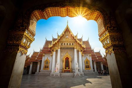 Bangkok  Thailand   February 5 Marble Temple Wat Benchamabophi