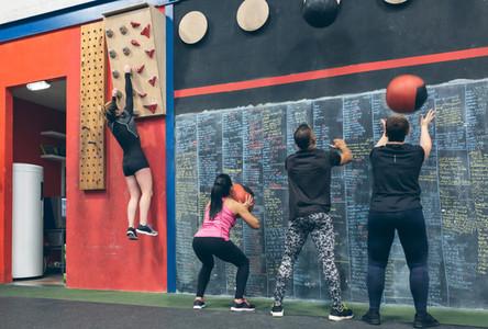 Group training at the box