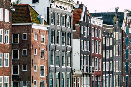 Amsterdam Attractions   houses on the Amstel River