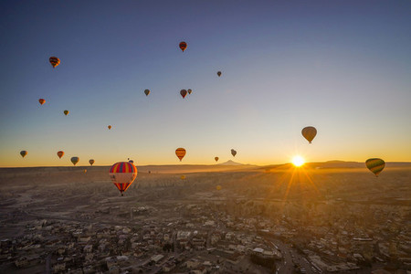 Balloons flight in TURKY