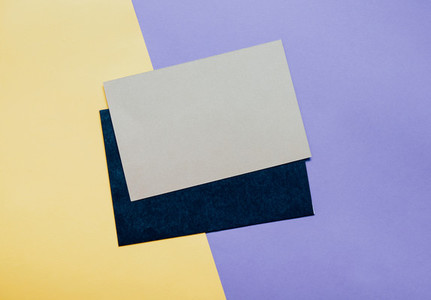 Blank card envelope with copy space