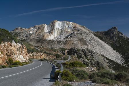 Marble quarry  Naxos  Greece